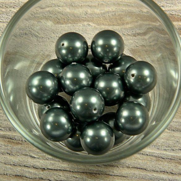 Shell pearl olajzöld golyó, 14 mm
