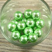 Shell pearl világoszöld golyó, 14 mm