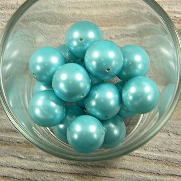 Shell pearl világoskék golyó, 16 mm