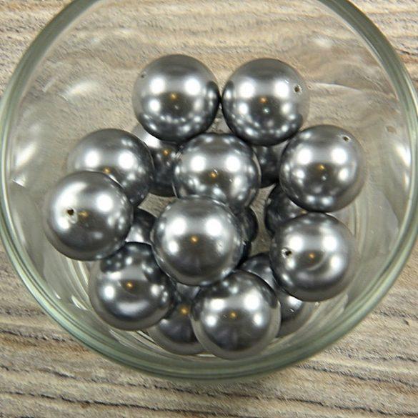 Shell pearl szürke golyó, 16 mm