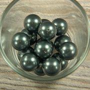 Shell pearl olajzöld golyó, 16 mm