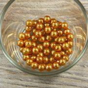 Shell pearl világosbarna golyó, 6 mm