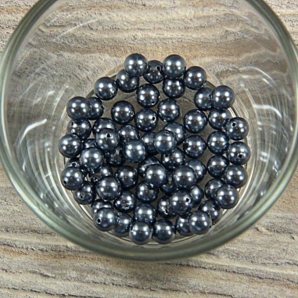 Shell pearl sötétszürke golyós, 6 mm