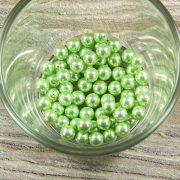 Shell pearl világoszöld golyó, 6 mm