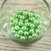 Shell pearl zöld golyó, 8 mm